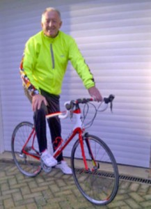 Our Contracts Director, Roger Pysden, cycles 300km for charity
