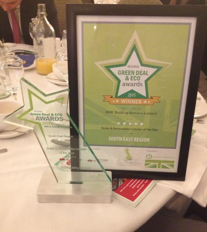 Green Deal and Eco Award Winners 2015!