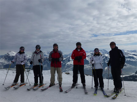 The BSW team hits the slopes