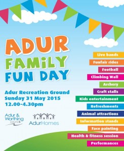 Adur Fun Day Poster